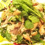 tofu spycy salad