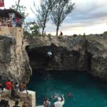 Rick's Cafe cliff jumping