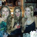 Martinis sharing memories