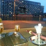 Shisha, beer and excellent view