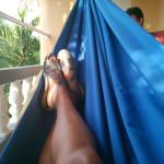 Our hammock on balcony