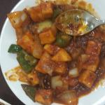 Chilly Paneer & Chutney