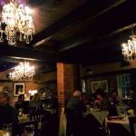 Cranberry stuffed pork tenderloin, key lime pie and a cozy romantic atmosphere.