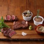 熟成黒毛和牛ステーキ 3種食べ比べ