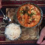 Prawn and veg hotpot-delicious!!!