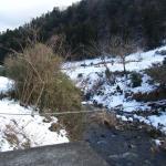 柚木慈生温泉 南側の川