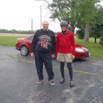 Gary and Mr. Cordle of Cordle's Motel