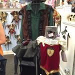 Items from the souvenir shop