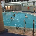 Nice pool facing rooms and loved the sauna. The hot tan was too small and too much chlorine also