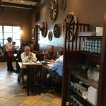 The food is amazing and the service is excellent. I left full and happy every visit.