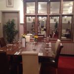 Lovely Restaurant, with fantastic quality food. In the heart of a picturesque village.
