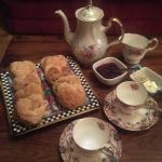 Afternoon tea and scones on arrival