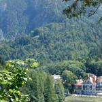 Hohenschwangau vom Alpsee gesehen