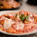 Ravioli in tomato souce