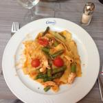 Pappardelle with Shrimps and Asparagus