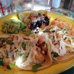 Fish tacos. Wow are these delicious.