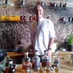 Sean Tracy of Hewn Spirits in Pipersville and Peddler's Village, Bucks County, PA