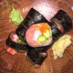 Salmon Sake Su