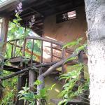 escalera acceso 2º piso