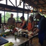 Great day cooking with Chef Scott.