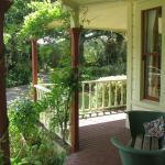 Verandah outside front door and adjoining bedroom