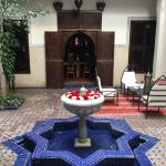 Common areas of the Riad