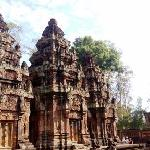 Banteay Srei, the prettiest of all temples in my opinion