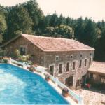 La Maillerie - view from the pool