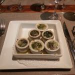 Escargot with Garlick Butter