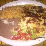This is a real authentic Mexican food. This picture is enchiladas verdes. I love this place. It'