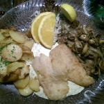fish and potatoes
