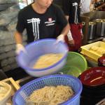 Making fresh Udon