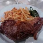 Entrecote y menú de la Sierra