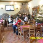 restaurant inside family meeting