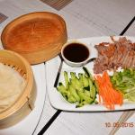 peking duck with pancakes