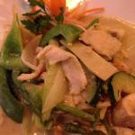 Kylling med grønn karri