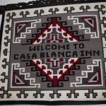 """The """"Two Gray Hills"""" Style Navajo rug sign sets the tone"""