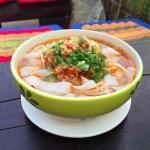 Kho Soy noodle soup