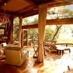 All new safari suites have exclusive and private views out and over the Okavango Delta