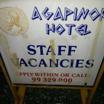 Foto de Agapinor Hotel
