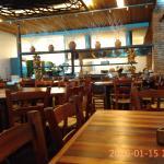 Área comum do restaurante