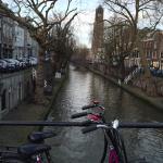 運河と自転車とドム塔