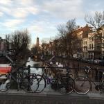 自転車と運河とドム塔