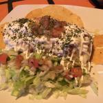Burrito Monte Cristo - fresh, tasty, well presented!