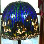 a tiffany lamp I made in 2002