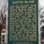 Austin Blair Historical Marker