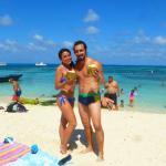 En la playa de San Andrés (trio advisor solo me deja etiquetar el hotel y no la playa)