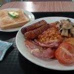 Asda Cafe breakfast