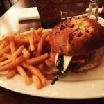 Soft shell crab caprese sandwich!