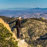 A drive up the Catalina Highway up the 9,000 feet of Mt. Lemmon gives you the opportunity to see